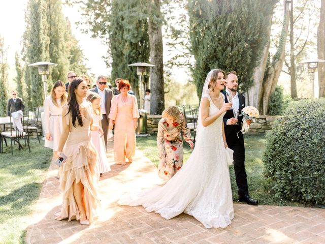Anja and Dhimi's Wedding in Tuscany, Italy 17