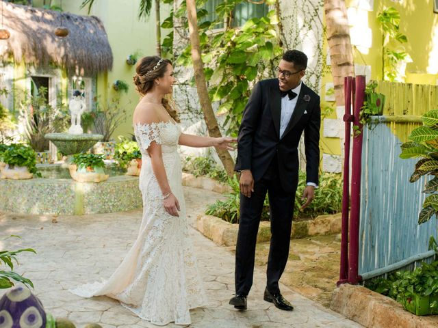 The wedding of Stephany and Anton
