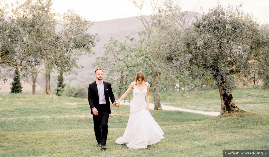 Anja and Dhimi's Wedding in Tuscany, Italy