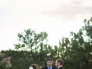 Rachael and Eric's Wedding in Santa Fe, New Mexico 12