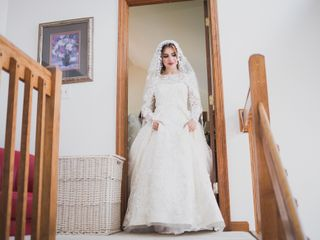 The wedding of Hajar and Azmad 2