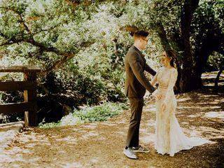 The wedding of Lori and Jon