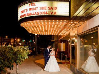 The wedding of Hope and Jason 1
