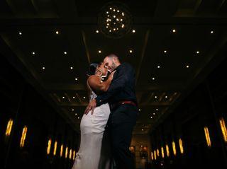 The wedding of Cynthia and Joe