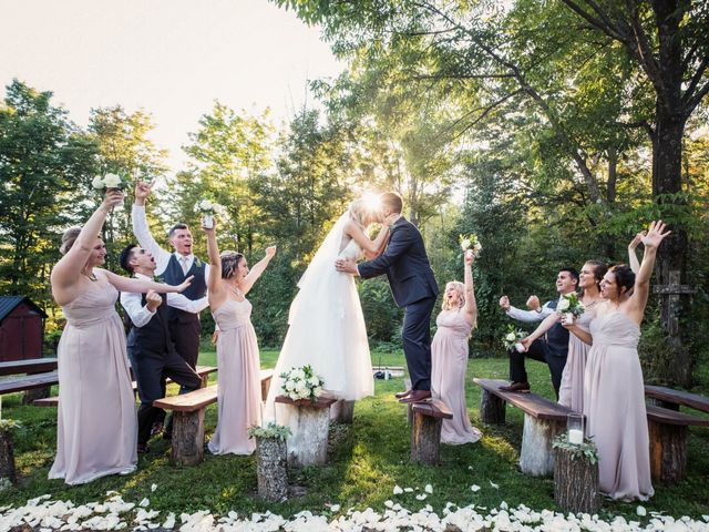 Jordan and Marina's Wedding in Howes Cave, New York 22