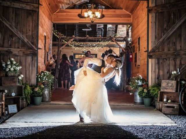 Jordan and Marina's Wedding in Howes Cave, New York 1