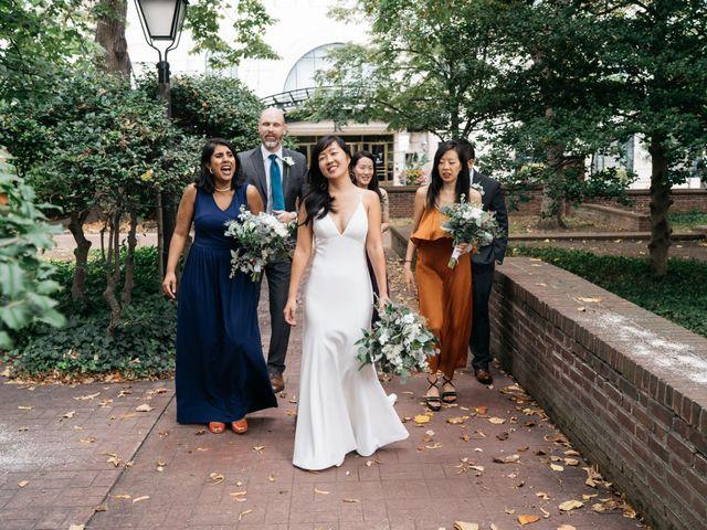 Nate and Meeri's Wedding in Philadelphia, Pennsylvania 36