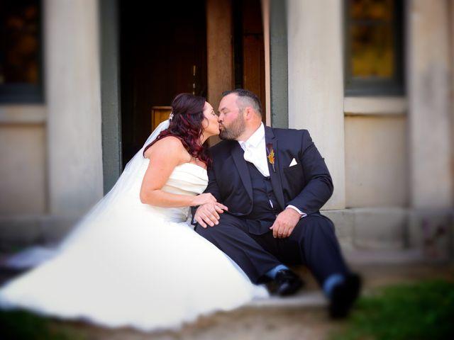 The wedding of Alisha and Dan