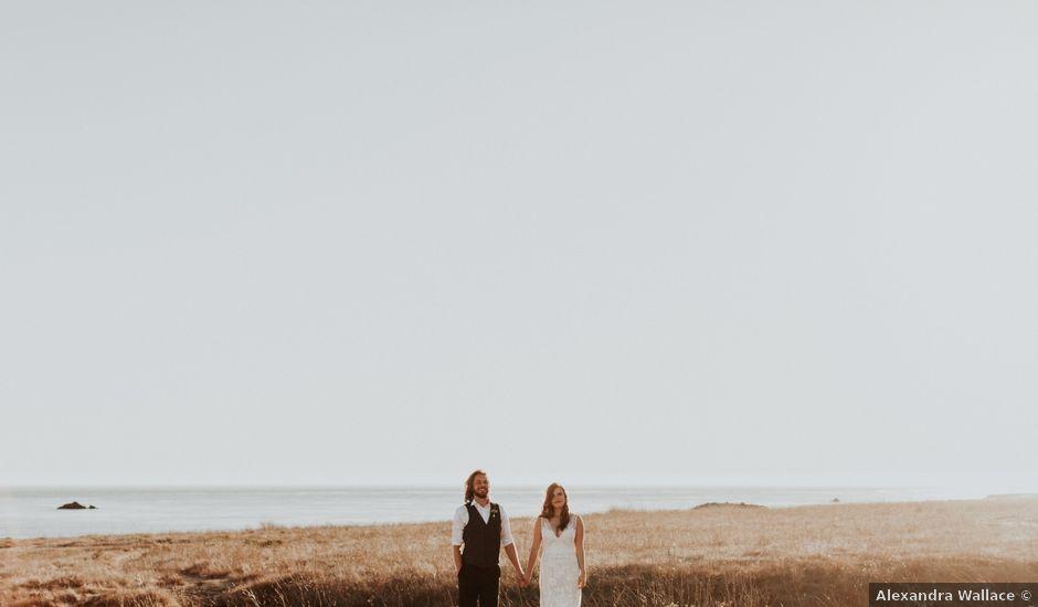 Tanner and Amanda's Wedding in Cayucos, California