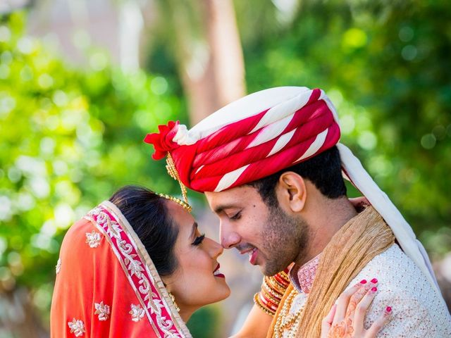 The wedding of Rohit and Kinjal