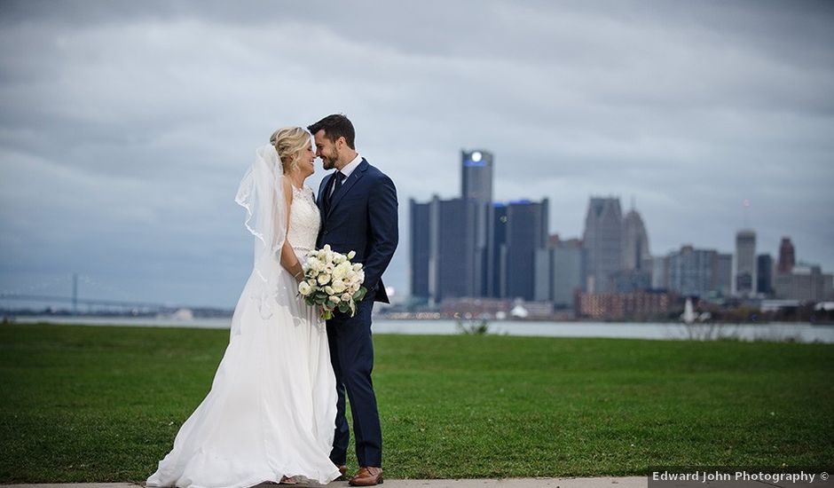 Kyle and Jessica's Wedding in Detroit, Michigan