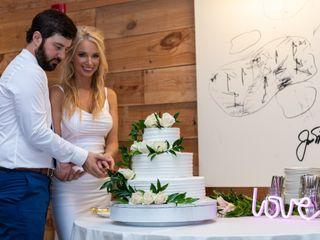 The wedding of Daniel and Jamie Lynn 1
