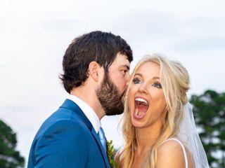 The wedding of Daniel and Jamie Lynn