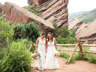 The wedding of Meghan and Deana