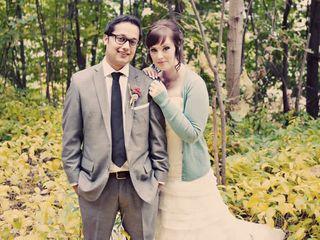 The wedding of Gary and Amanda 1