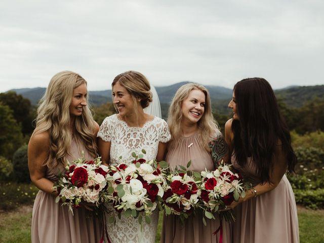 Brittany and Matthew's Wedding in Cashiers, North Carolina 7