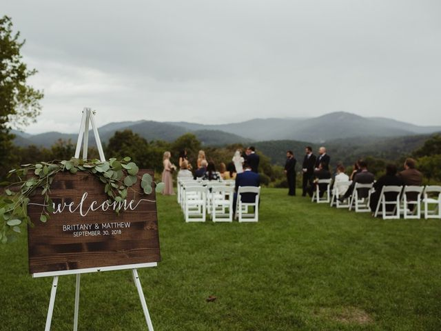 Brittany and Matthew's Wedding in Cashiers, North Carolina 14