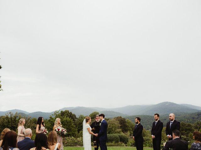 Brittany and Matthew's Wedding in Cashiers, North Carolina 17