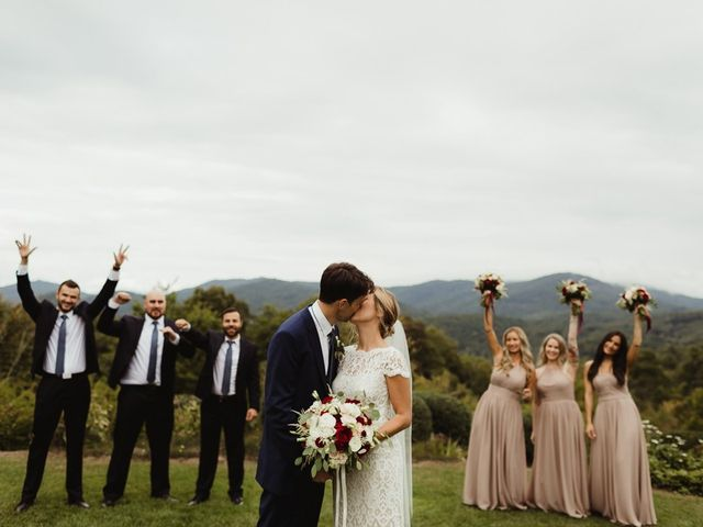 Brittany and Matthew's Wedding in Cashiers, North Carolina 20