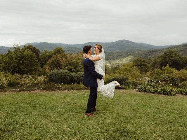Brittany and Matthew's Wedding in Cashiers, North Carolina 21