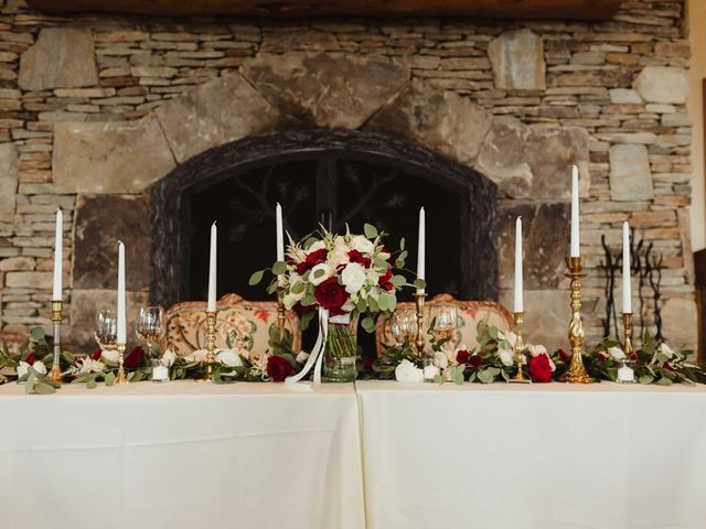 Brittany and Matthew's Wedding in Cashiers, North Carolina 28