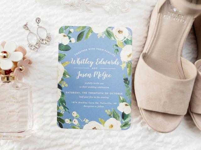 Jason and Whitley's Wedding in Pottsville, Arkansas 1