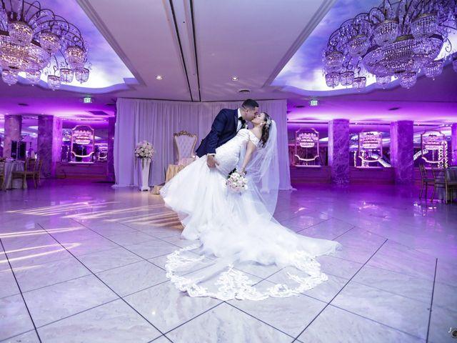 The wedding of Melissa and Ryan