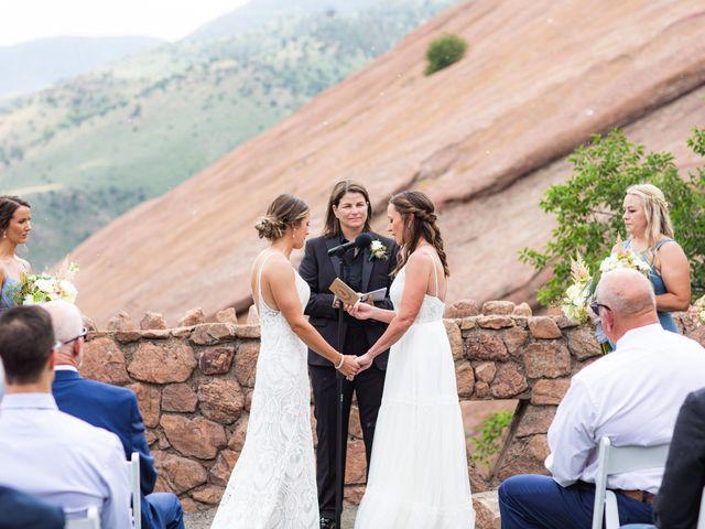 Deana and Meghan's Wedding in Denver, Colorado 30