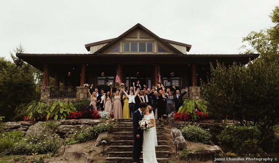 Brittany and Matthew's Wedding in Cashiers, North Carolina