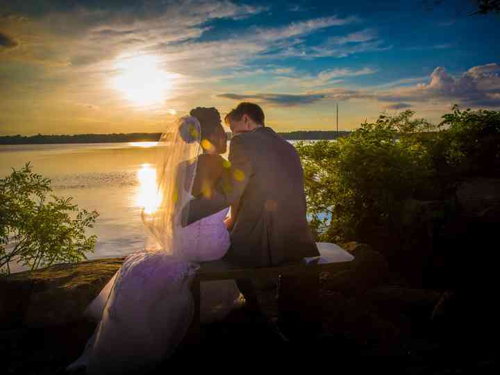 The wedding of Catherin and Ryan