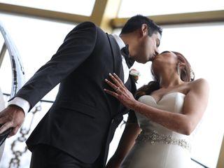 The wedding of Rakhi and Akio 2