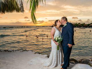 The wedding of Megan and Darren