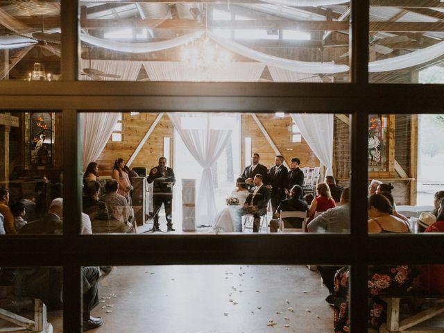 Josue and Jennifer's Wedding in Crosby, Texas 11