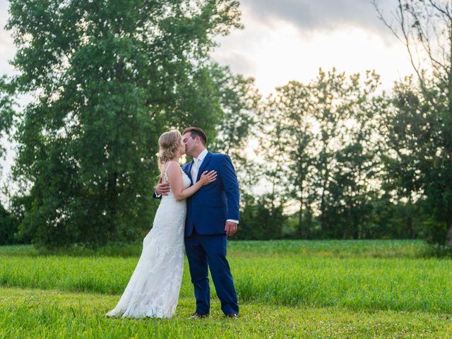 The wedding of Amanda and Shane