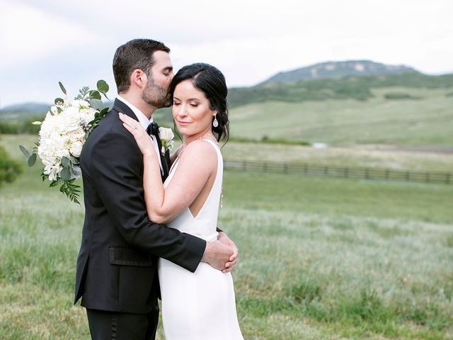 Mike and Tina's Wedding in Larkspur, Colorado 12