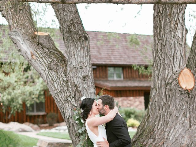 Mike and Tina's Wedding in Larkspur, Colorado 14