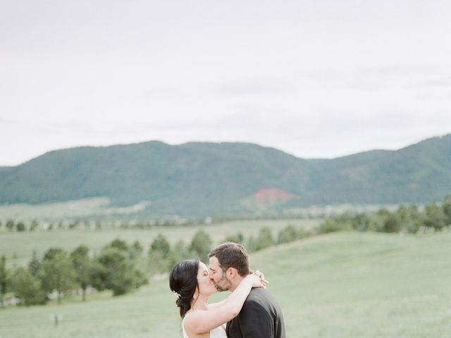Mike and Tina's Wedding in Larkspur, Colorado 21
