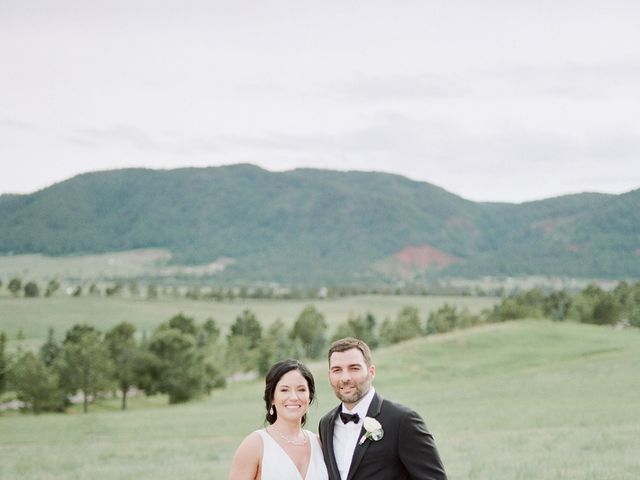 Mike and Tina's Wedding in Larkspur, Colorado 22