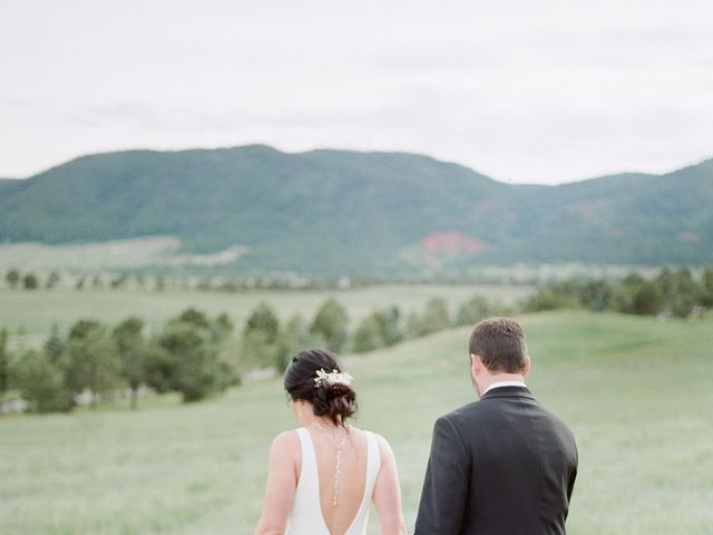 Mike and Tina's Wedding in Larkspur, Colorado 23