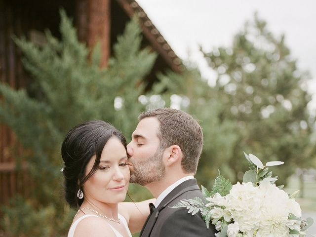 Mike and Tina's Wedding in Larkspur, Colorado 27