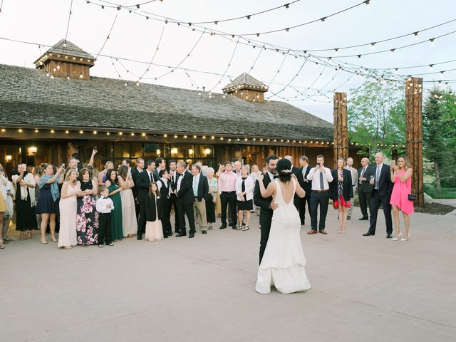 Mike and Tina's Wedding in Larkspur, Colorado 38