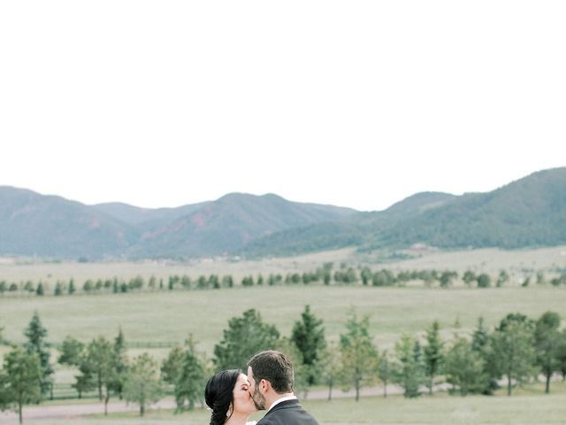 Mike and Tina's Wedding in Larkspur, Colorado 48