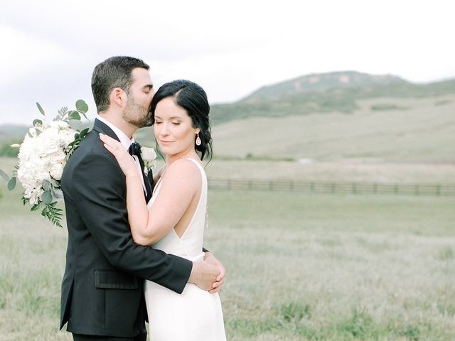 Mike and Tina's Wedding in Larkspur, Colorado 50