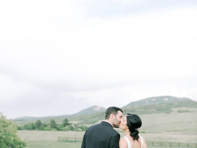 Mike and Tina's Wedding in Larkspur, Colorado 51