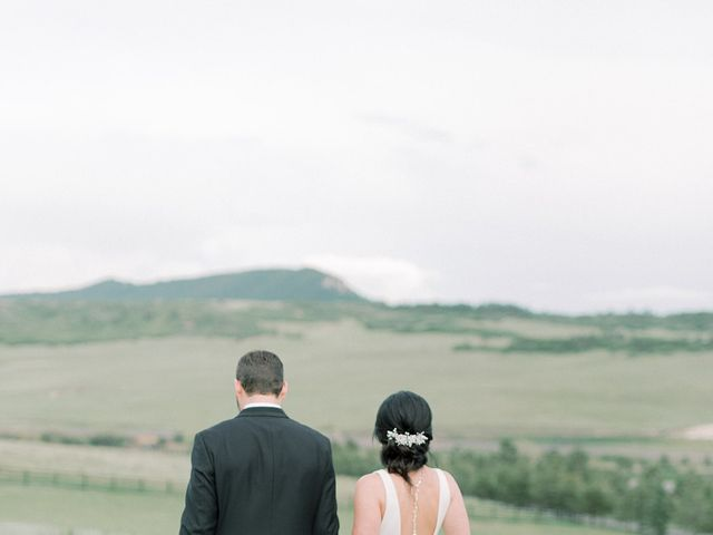 Mike and Tina's Wedding in Larkspur, Colorado 1