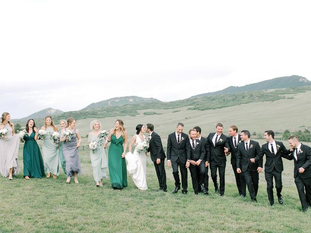 Mike and Tina's Wedding in Larkspur, Colorado 52