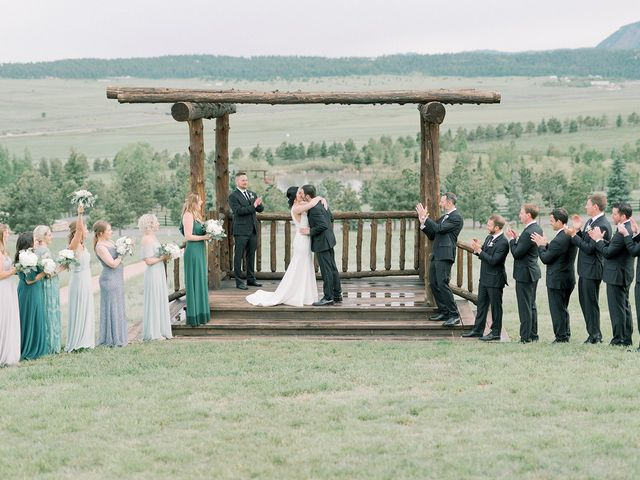 Mike and Tina's Wedding in Larkspur, Colorado 53