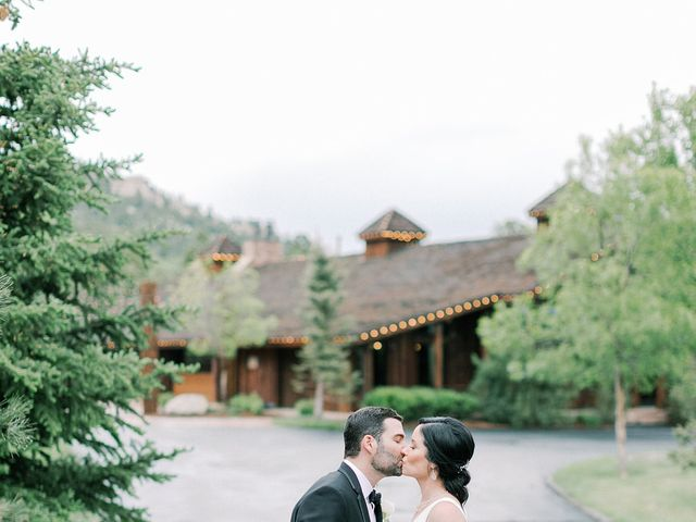 Mike and Tina's Wedding in Larkspur, Colorado 54