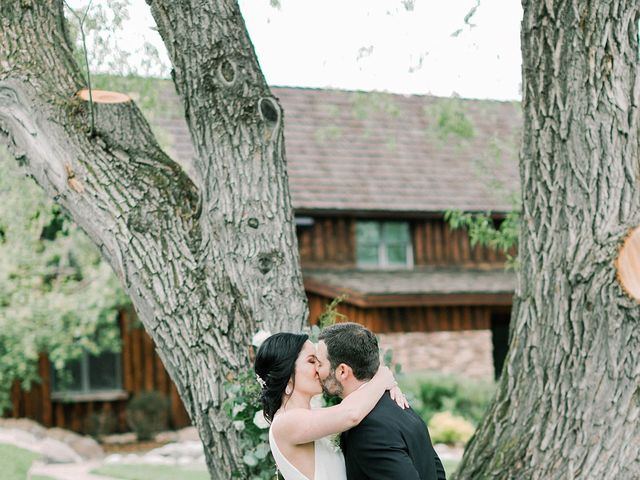 Mike and Tina's Wedding in Larkspur, Colorado 55