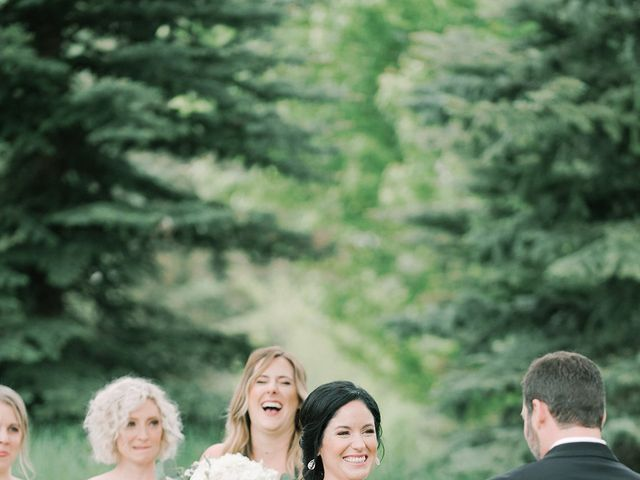 Mike and Tina's Wedding in Larkspur, Colorado 57